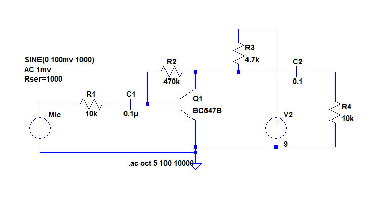 A simple preamp for dynamic capsules to suit radios using electret on ham radio circuits, ham radios for beginners, ham radio block diagram, ham receiver schematic,