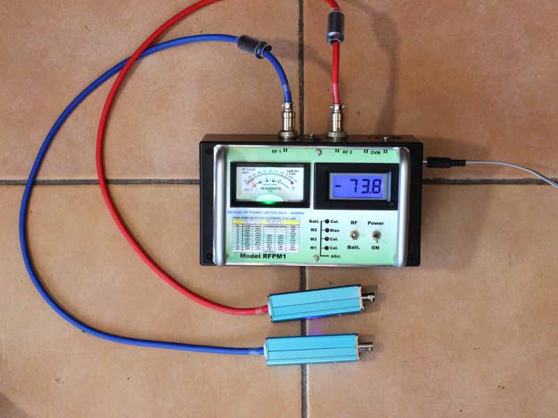 Rf Power Meter : Vk aqz rf power meter rfpm owenduffy