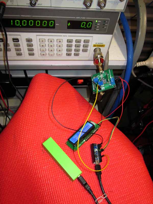 Chinese AD8307 power measurement module #3 – owenduffy net