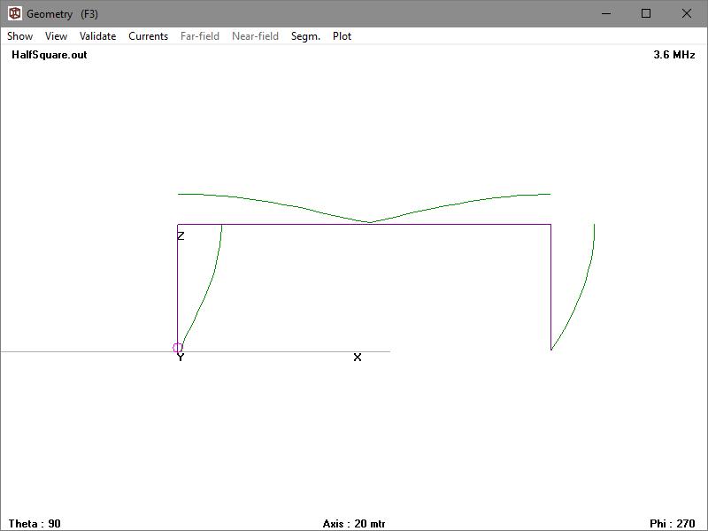 80m voltage fed Half Square matching workup – owenduffy net