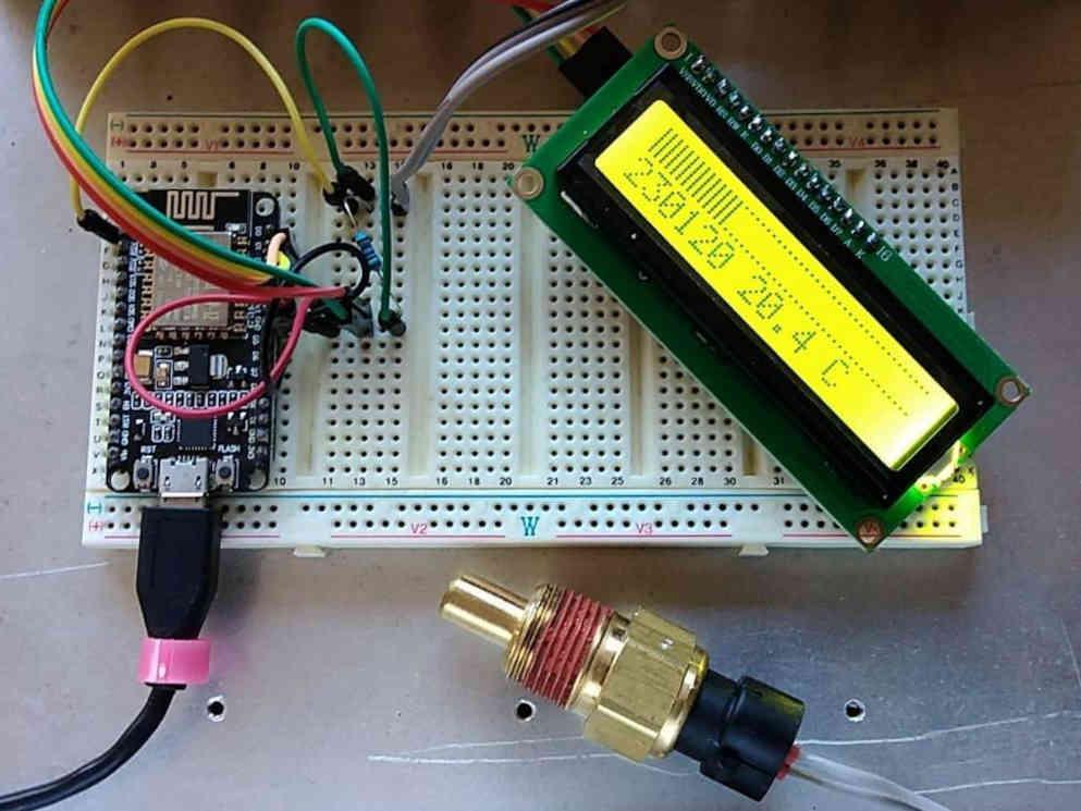 Logging temperature meter (ltm) v1 – prototype trial run measuring ECT.