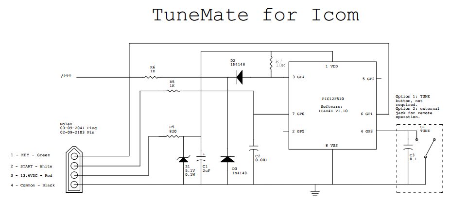Tunemate For Icom Transceivers