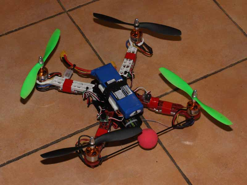 F330 quadcopter (1/12/2013 build)